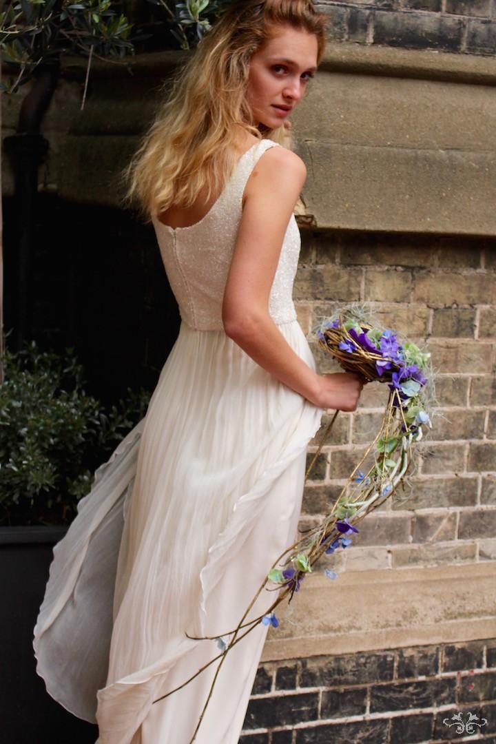 Hydrangea bridal bouquet Belgravia