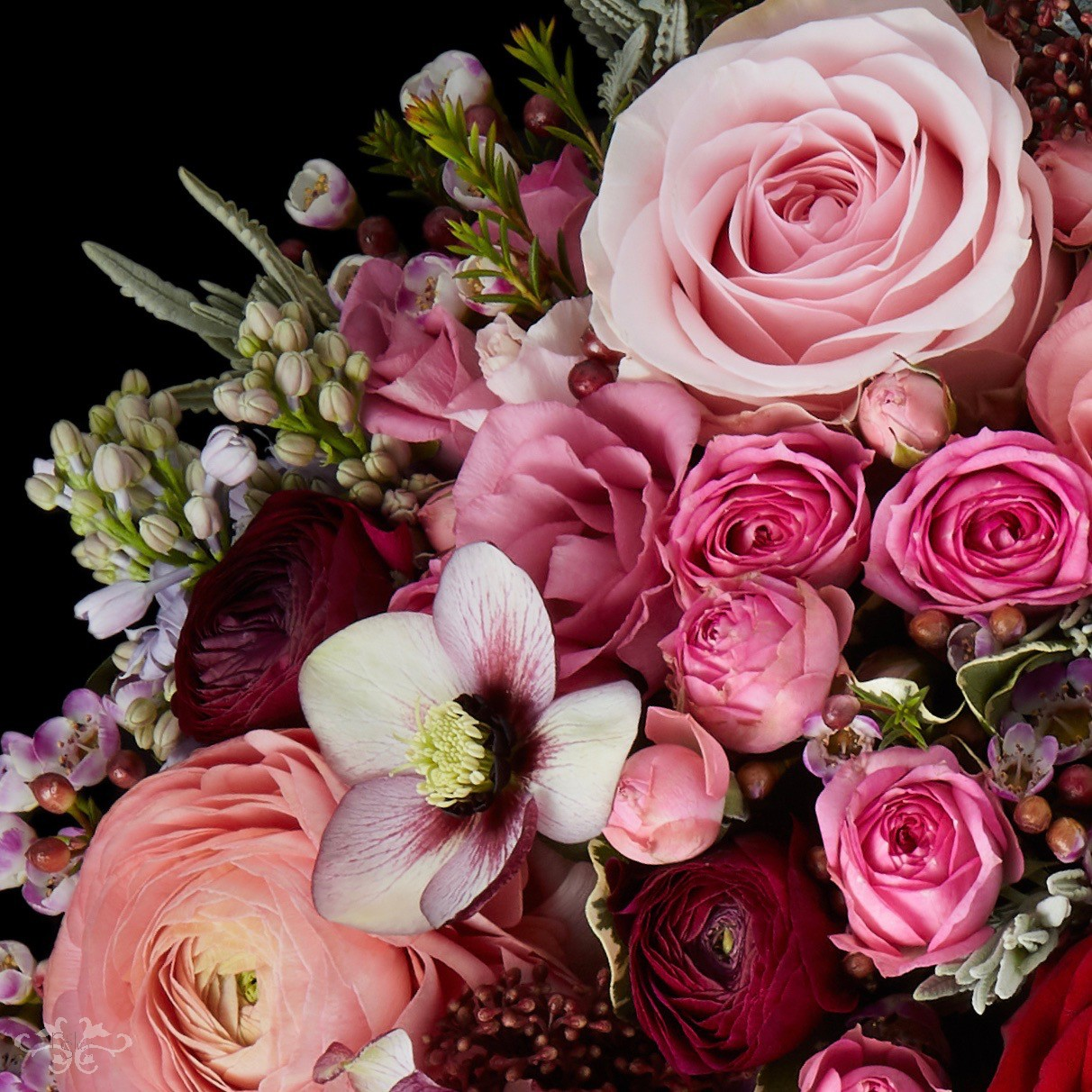 Luxury seasonal bouquets for Valentine's Day by Neill Strain Floral Couture