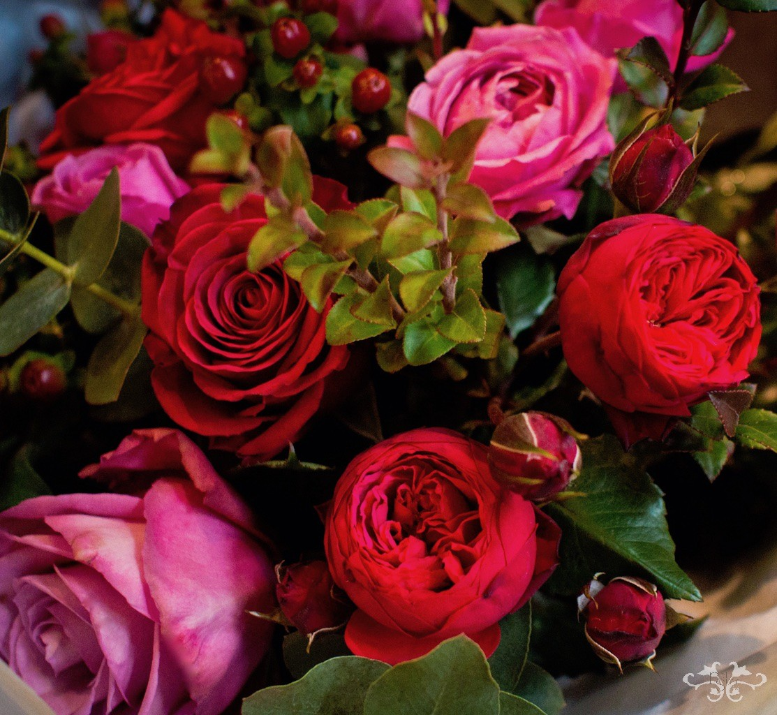 Order bespoke bouquets for Valentine's Day from Neill Strain Floral Couture at the Belgravia boutique