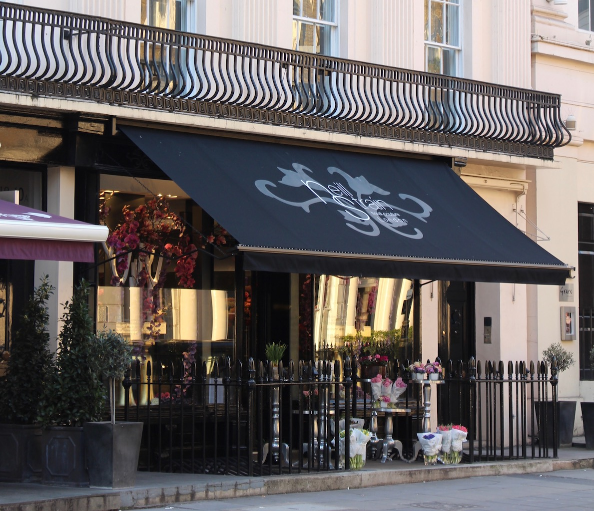The Neill Strain Floral Couture boutique in Belgravia, London SW1