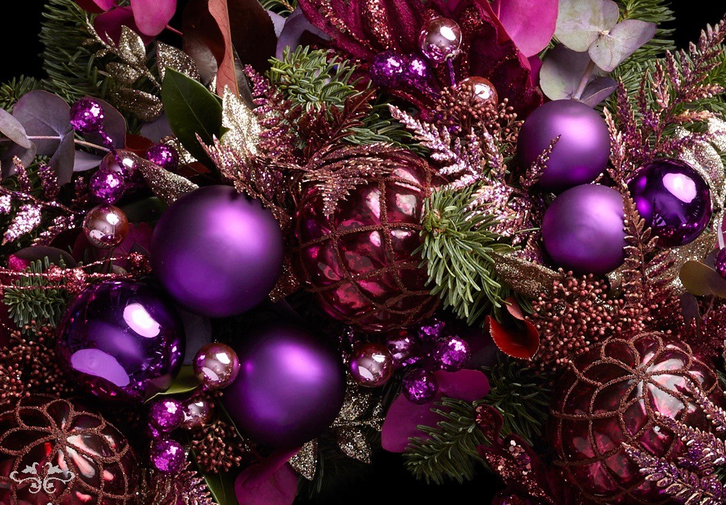 Modern style Christmas designs London by Neill Strain