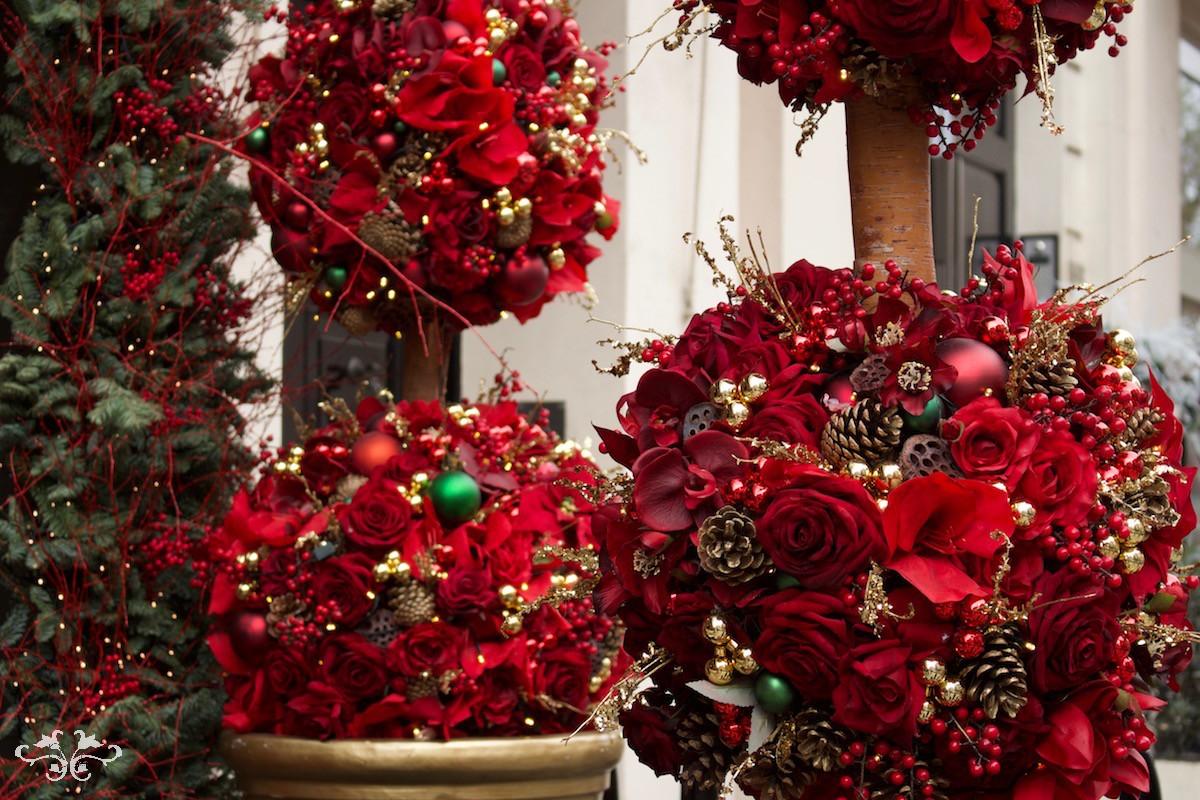 Christmas sphere design by Neill Strain Belgravia