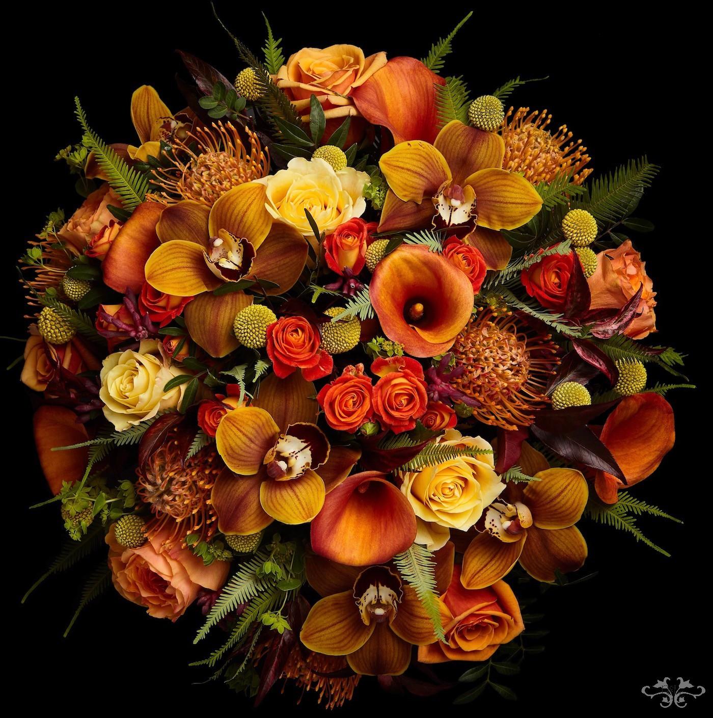 Summer Safari bouquet Neill Strain Belgravia