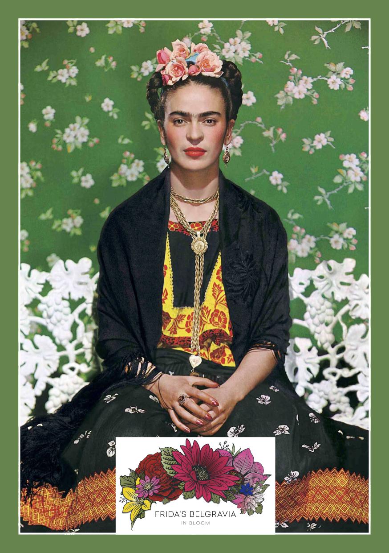 Frida Kahlo inspires Belgravia in Bloom