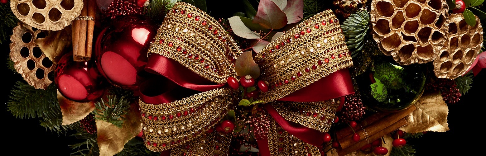 Neill Strain Floral Couture Christmas