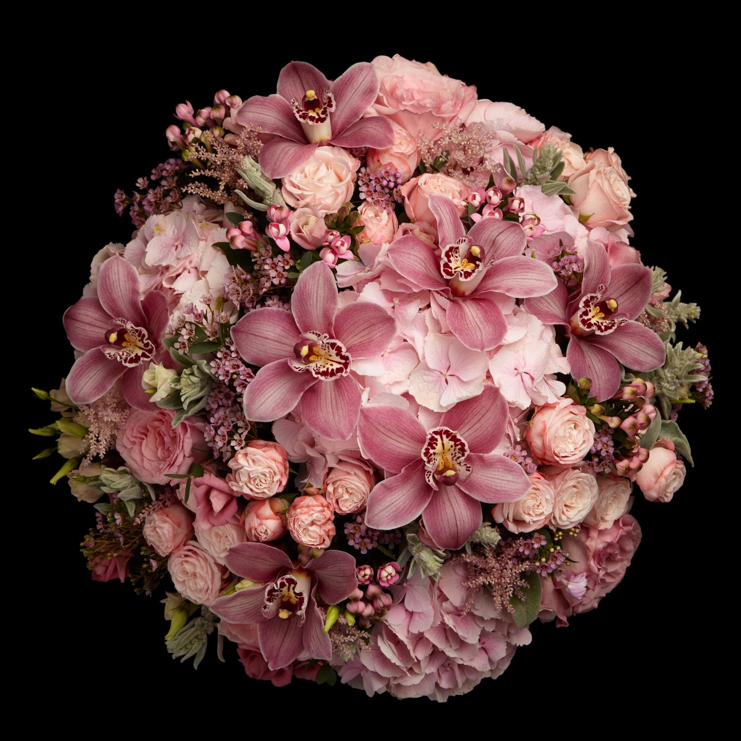 """Neill Strain FLoral Couture's """"Sloane"""" range of pink designs available to order online"""