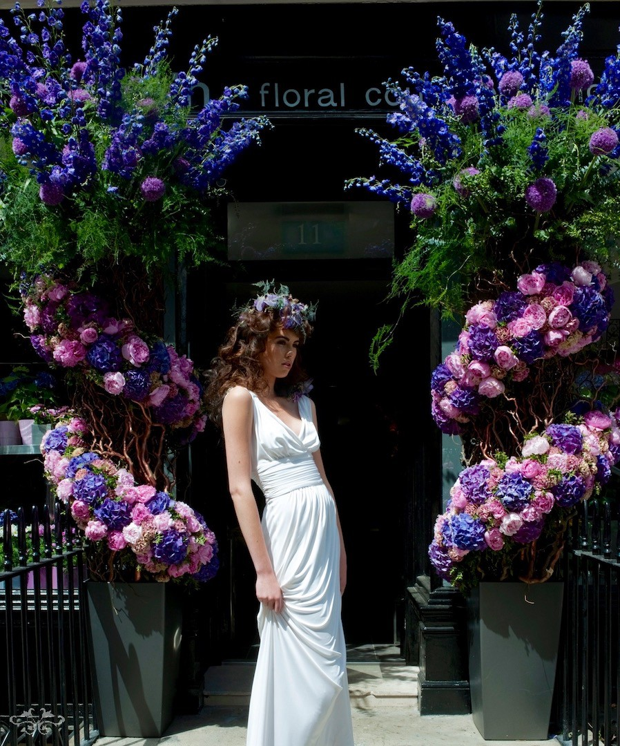 Neill Strain Floral Couture dressed for RHS Chelsea Flower Show 2011