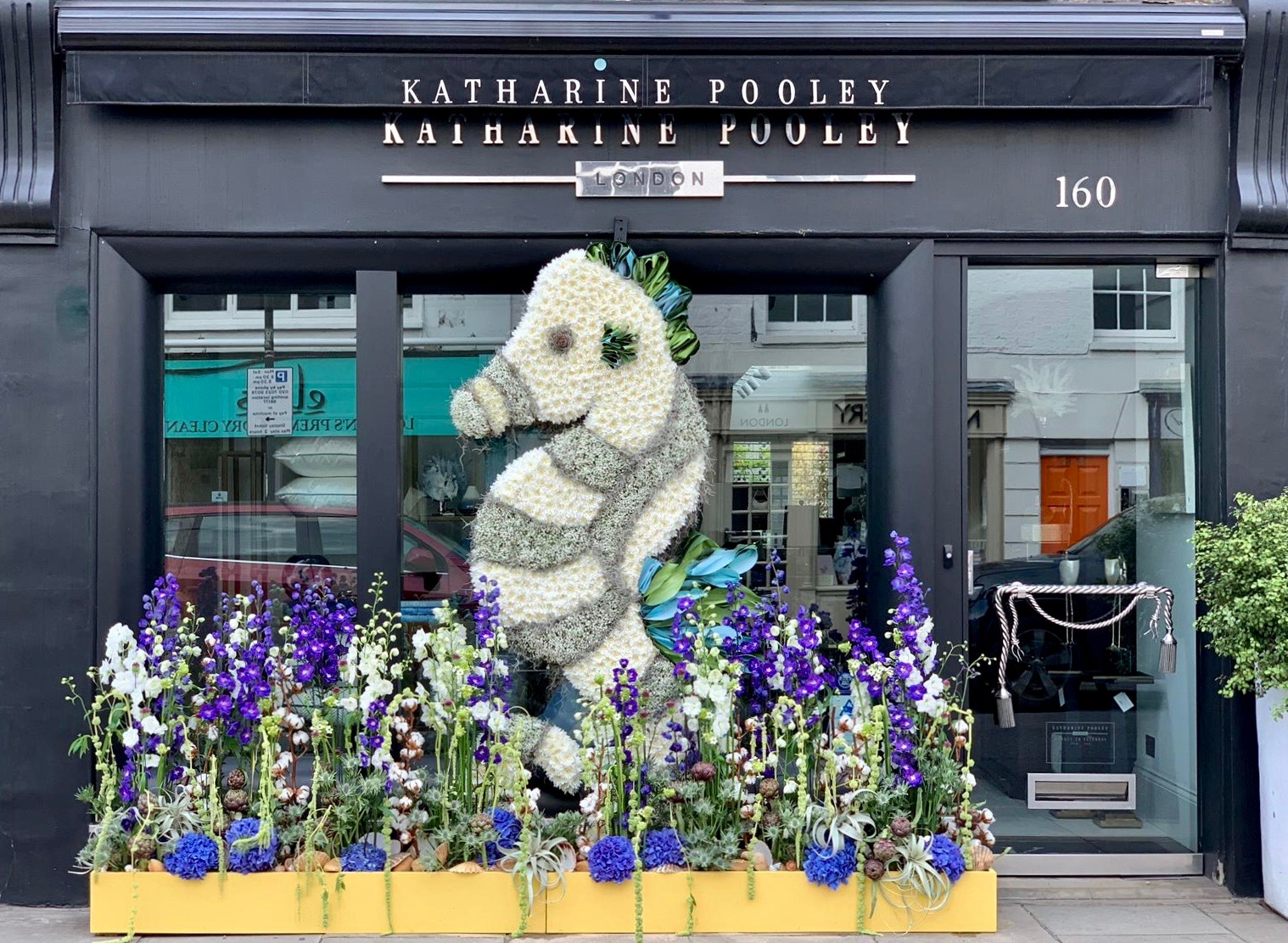 "Chelsea In Bloom themed ""Under The Sea"" design for Katharine Pooley"