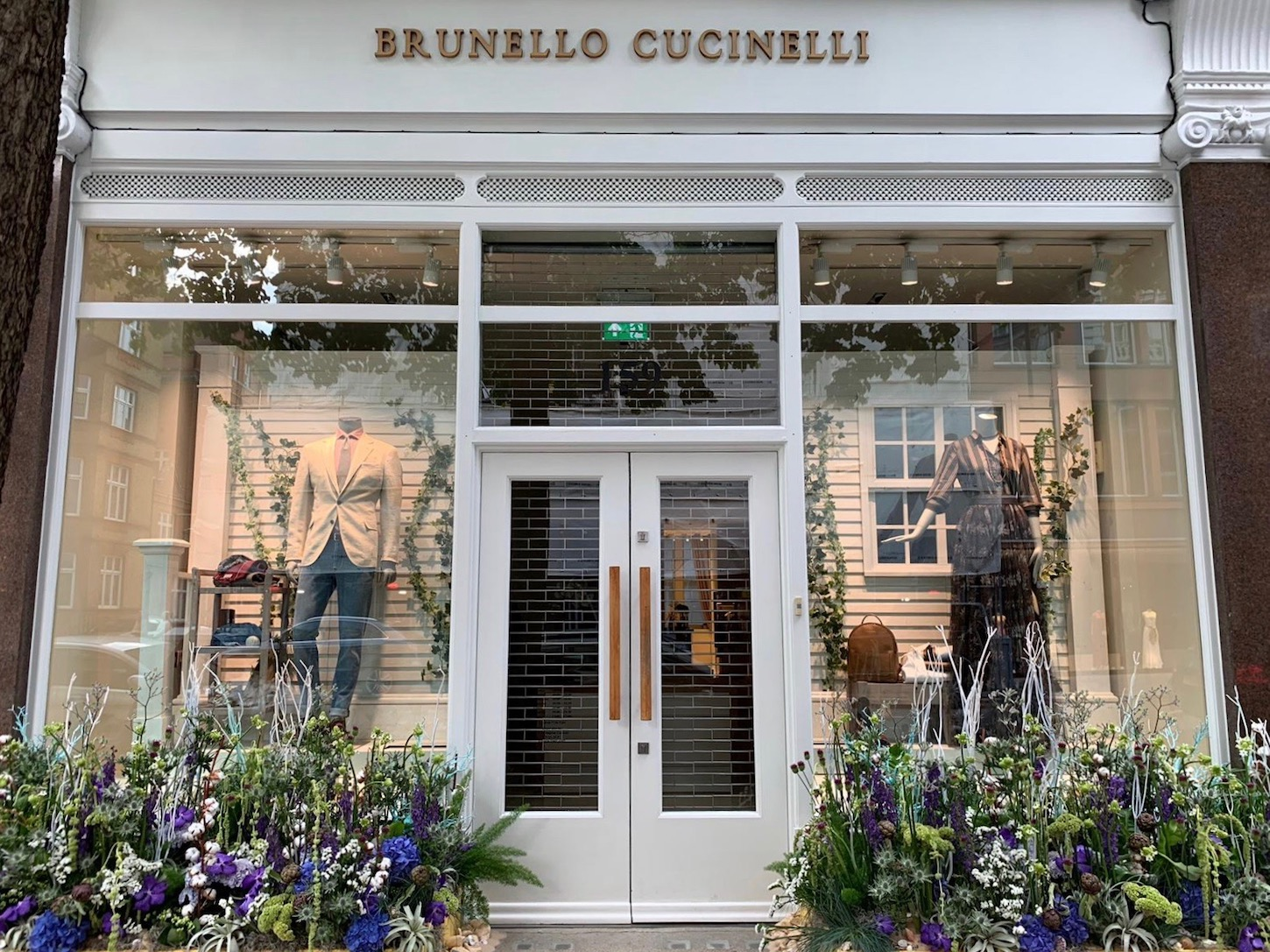 "Chelsea In Bloom ""Under The Sea"" themed design for Brunello Cucinelli"