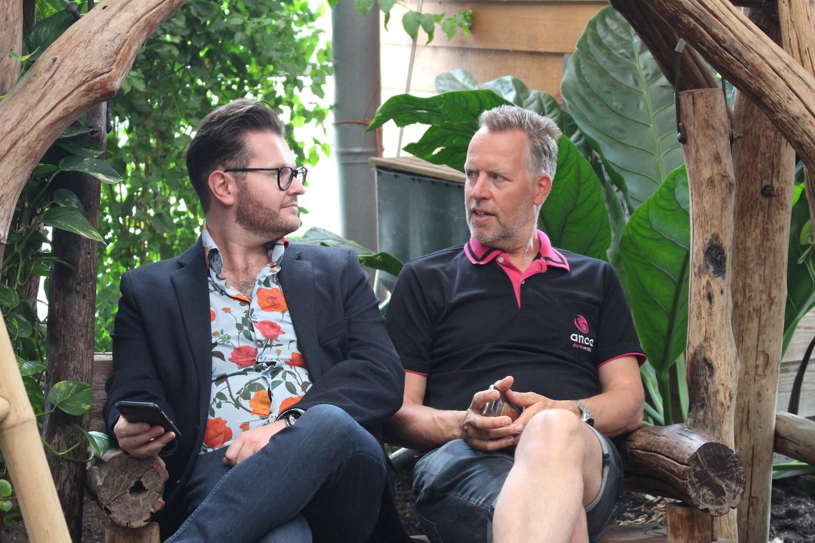 Neill Strain and Steef van Adrichem