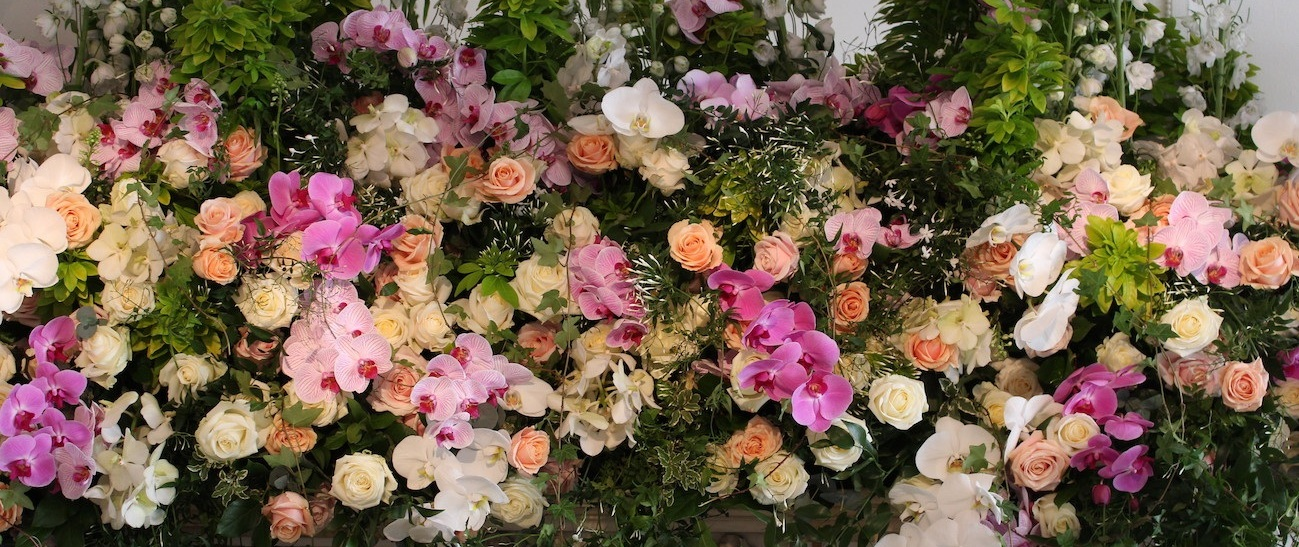 luxury london event flowers Neill Strain Floral Couture