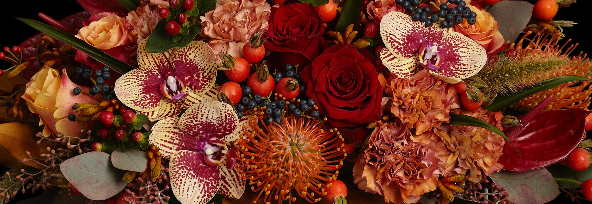 Neill Strain Floral Couture Autumn Flowers