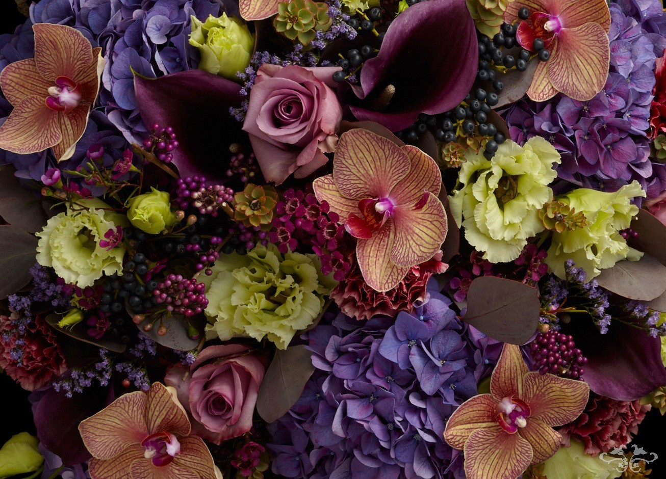 """""""Eaton"""" designs for Autumn 2019 by Neill Strain Floral Couture"""