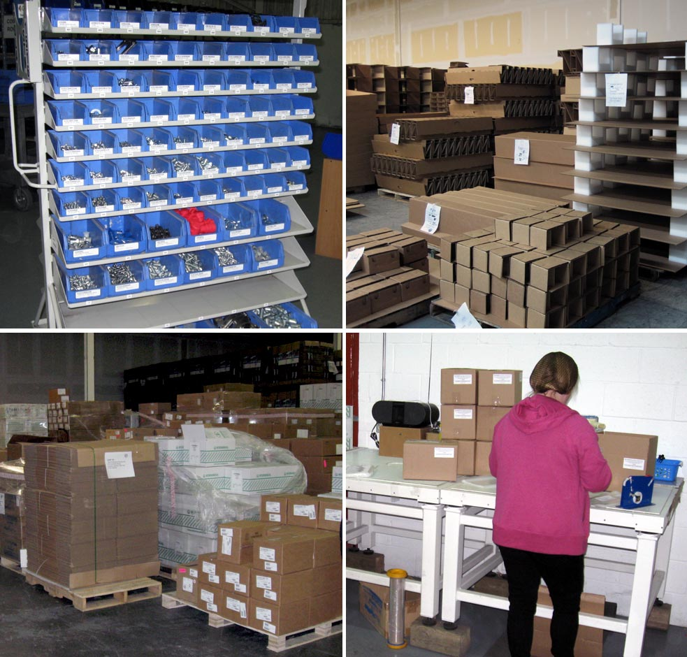 We provide all sorts of warehousing and packaging solutions