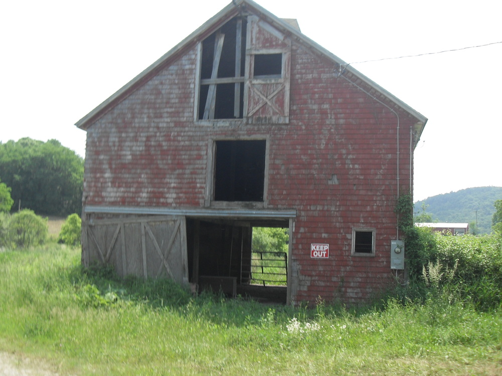 South side of Route 343, town of Amenia, NY