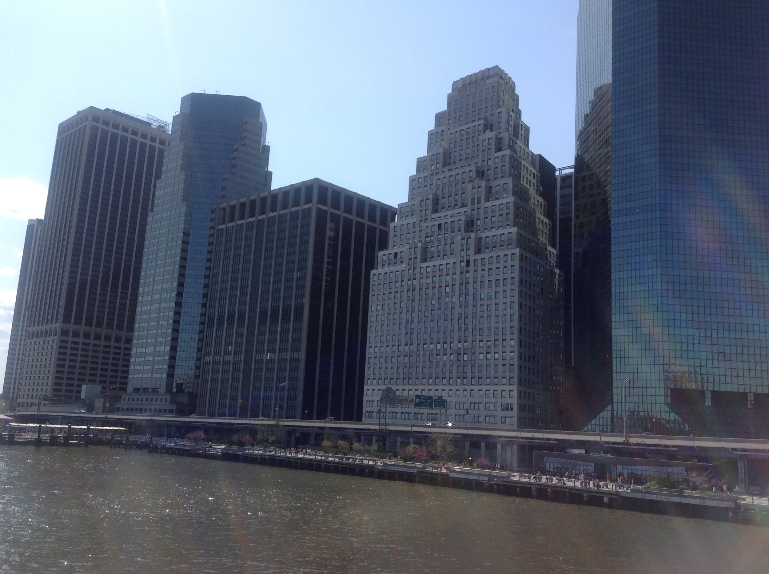 manhattan east river waterfront, looking south from south street seaport, may 2015