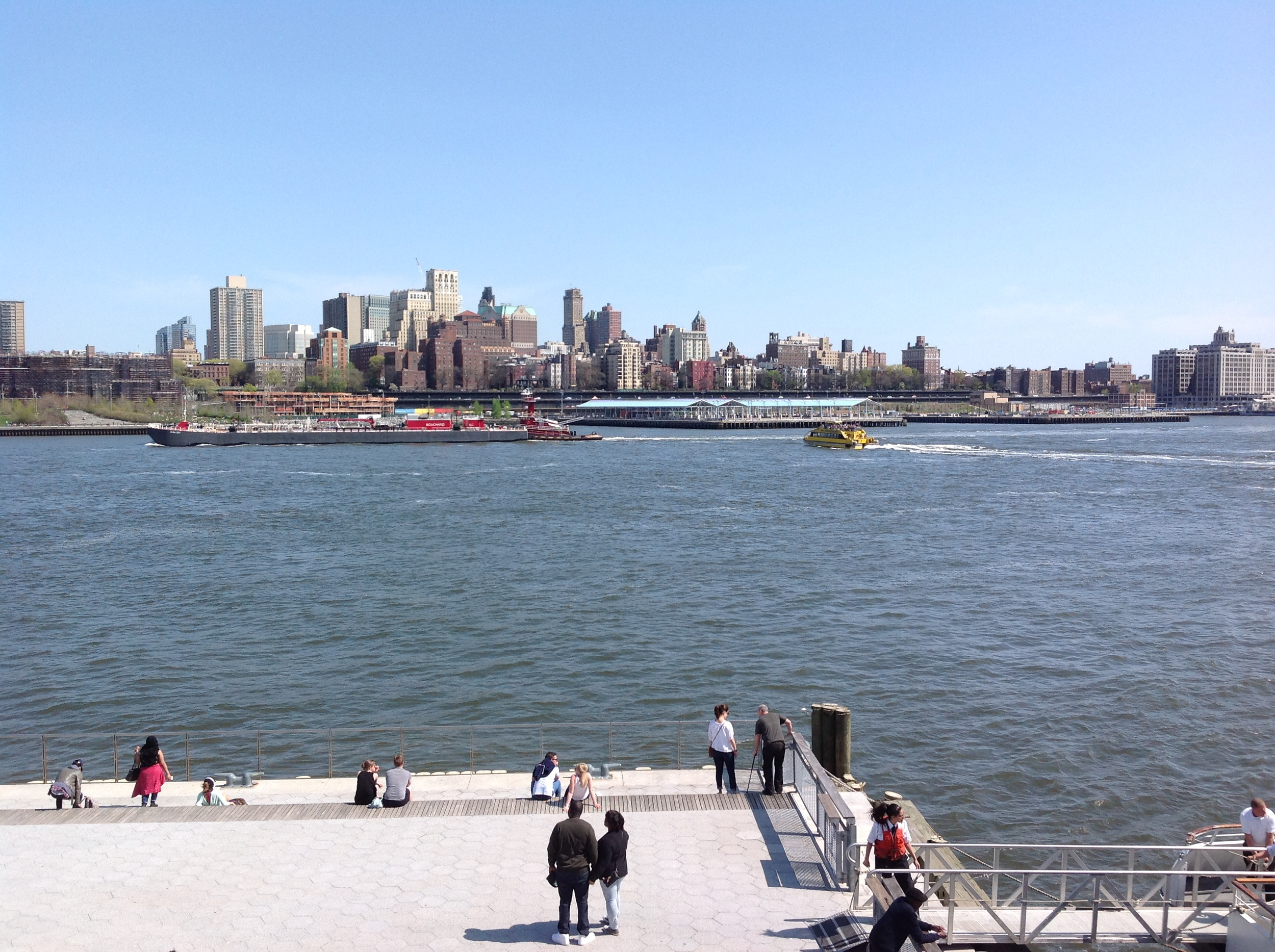 view of downtown brooklyn from south street seaport, may 2015