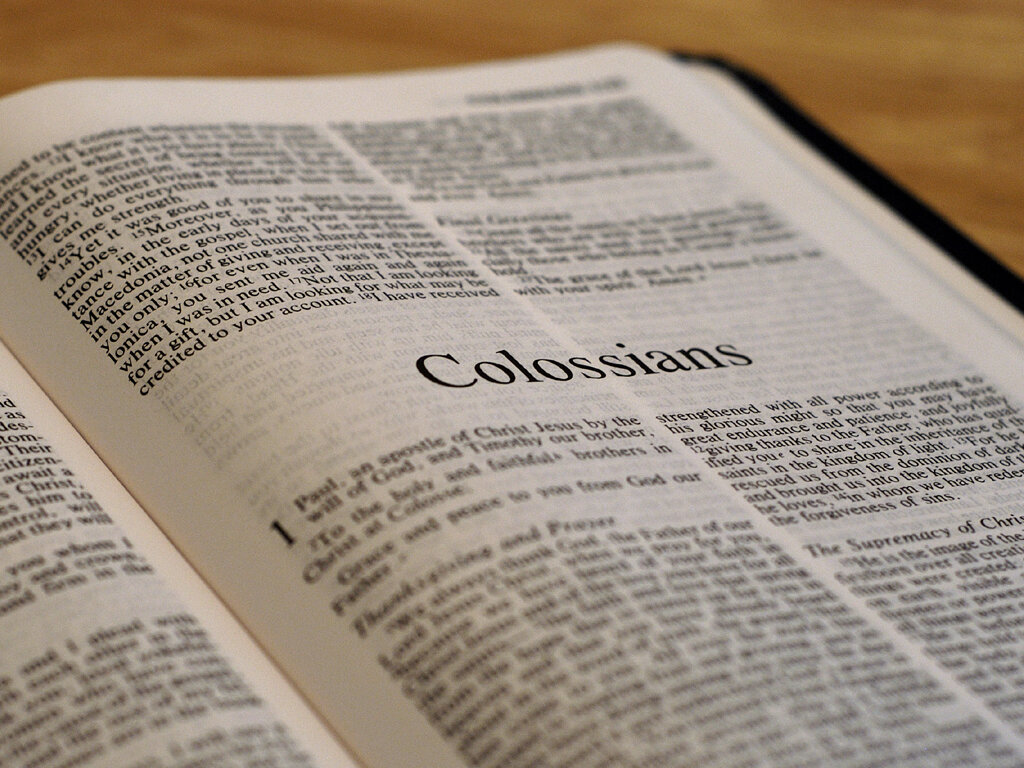Praying the Letters of Paul - Colossians 3:1-11 — Covenant Baptist ...