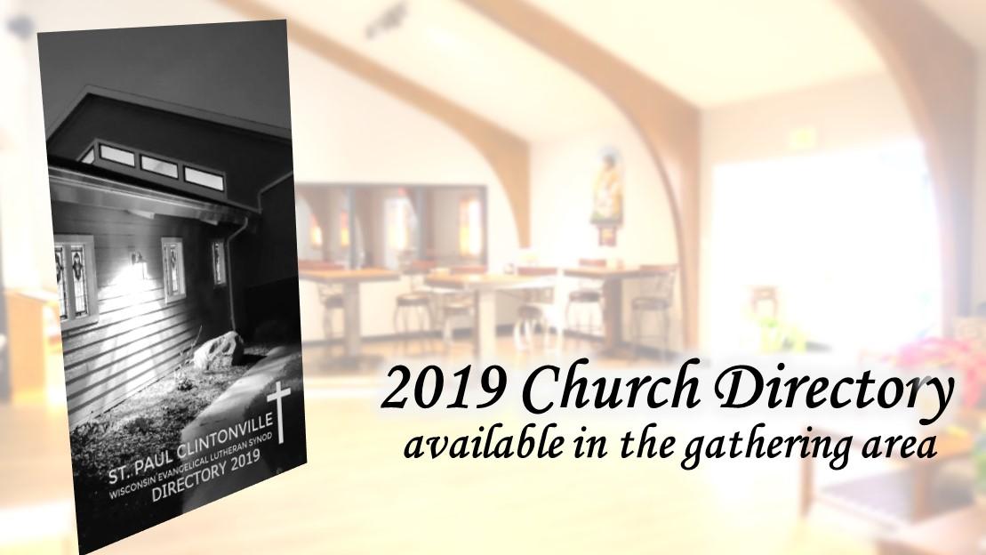 Church Family Directory