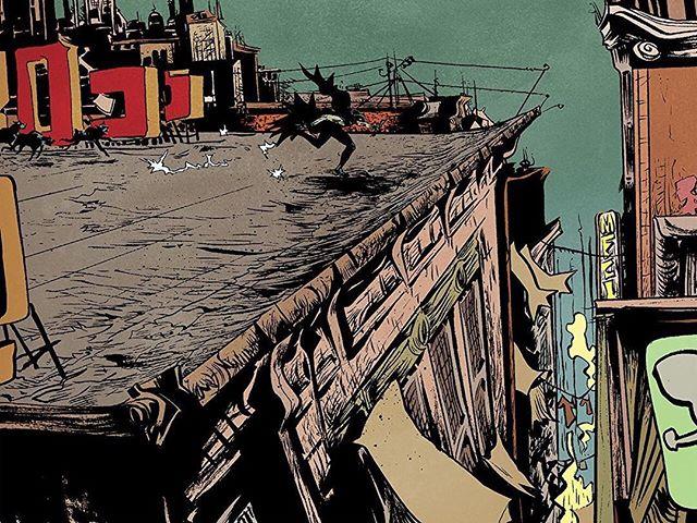 BMYR100/2006 #rooftop #gotham #batman @dccomics colors-- @villarrubia.jose