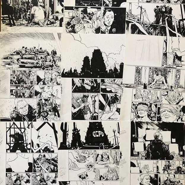 BMYR100–tomorrow 6/12/18 @felixcomicart releases a new collection of batman year 100 original art 10am PST. Since these are mainly pages without Batman or with Bats in 1 or 2 panels only, we can offer them at lower rates than the splashier, iconic pages (although we still have many of those too). The last sales of my originals have been 100% sold within a day or two, so don't miss out! This is the last Batman Year 100 sale for the foreseeable future. Thanks for looking!