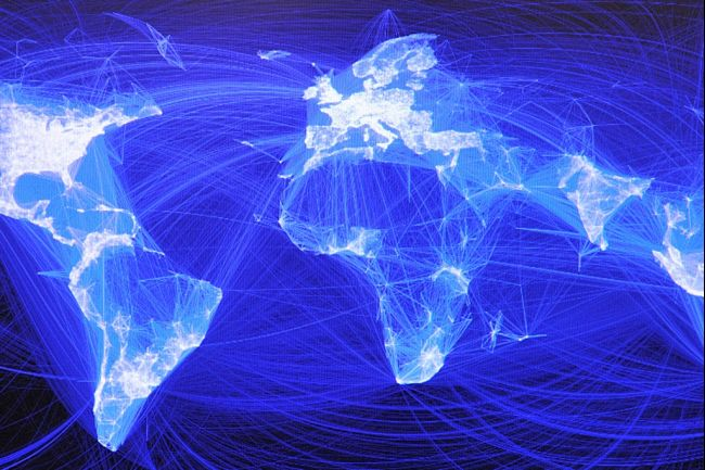 Facebook's reach around the world | Image credit: Karen Bleier of AFP/Getty