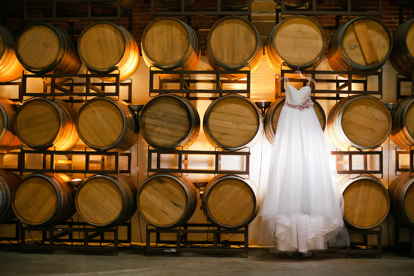 wedding-sugar-mill-old-winery-vinery-barrels-dress