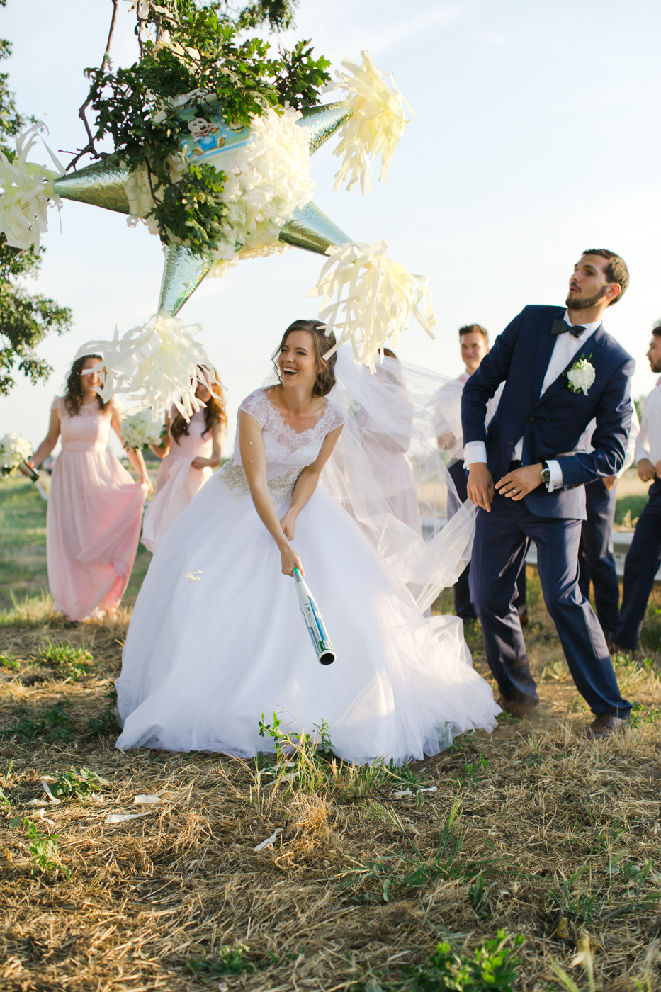 bride-groom-wedding-pinata-fun-west-sacramento