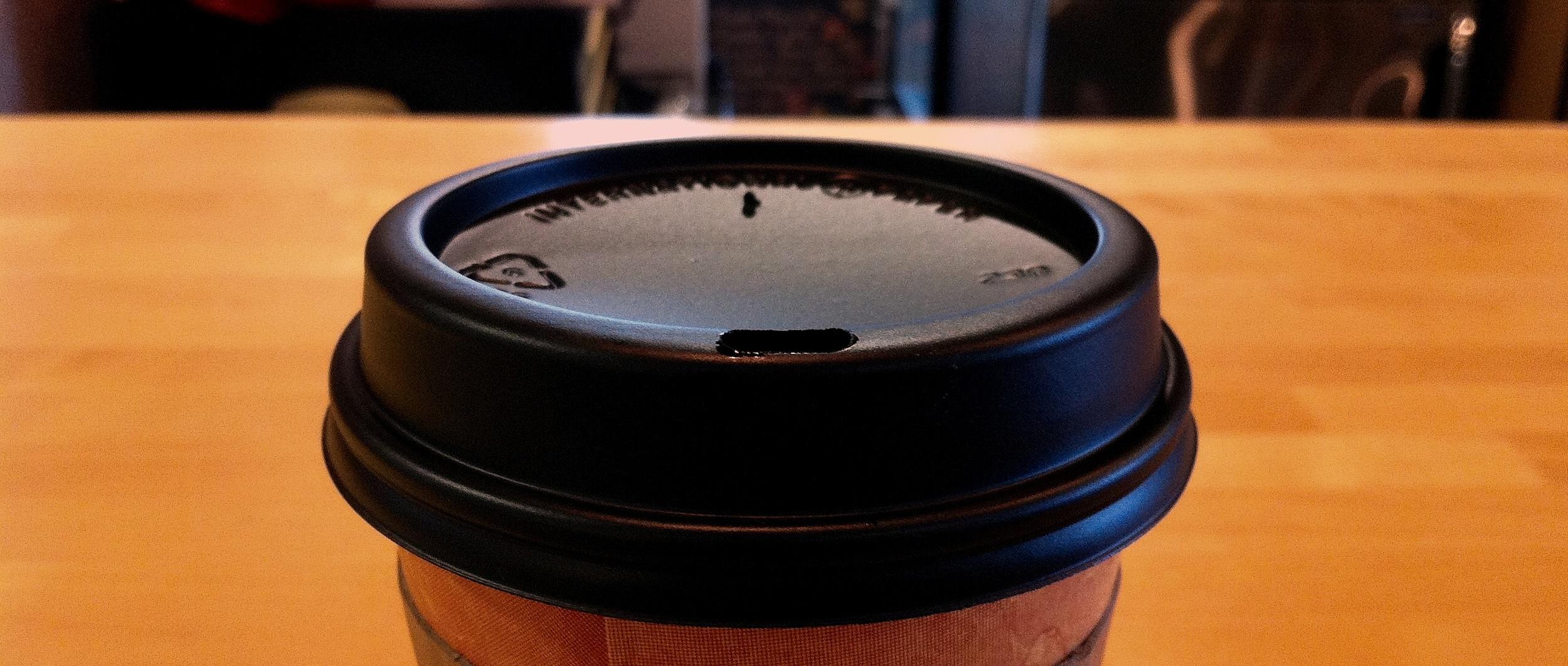Intimidation: Coffee. (Milwaukee Public Market)