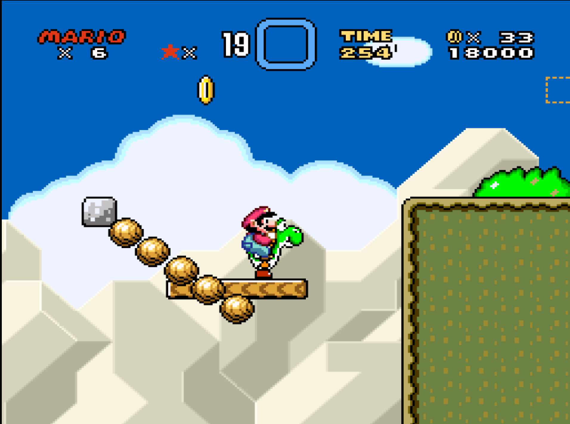 Super Mario World on SNES