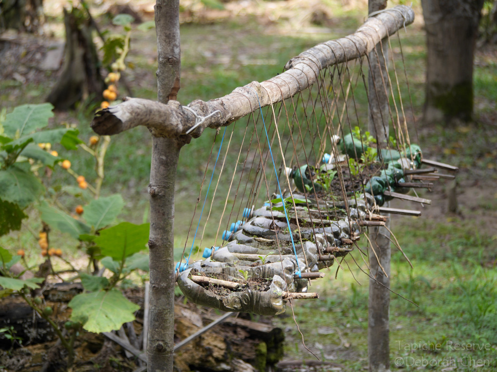Flood-proof organic garden