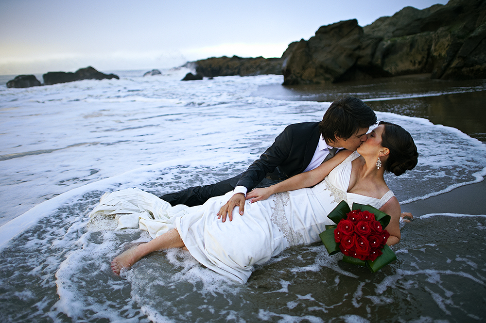 And finally, the place where we got to Trash the Dress.