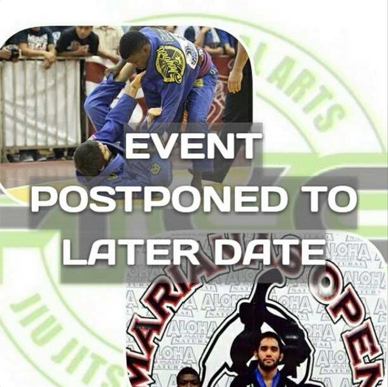 We greatly apologize but the event has been postponed until after the IBJJF World Championship. Thank you for your support and understanding.