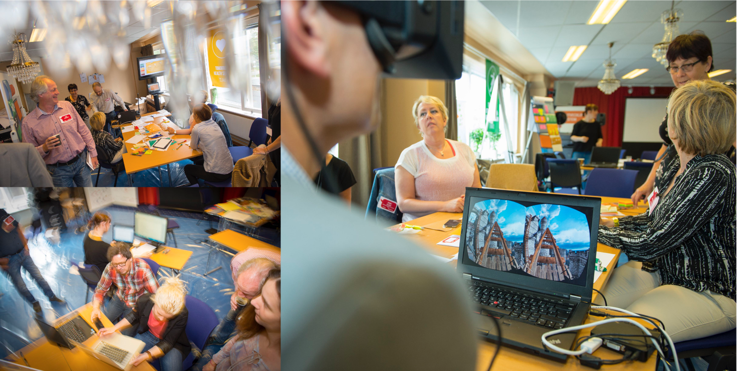 Full scale PIDoT: 64 citizens, public servants, experts and designers build 8 concepts/prototypes in 2 days. 2 companies and several services has been formed so far! (Photos Patrick Trädgårdh)