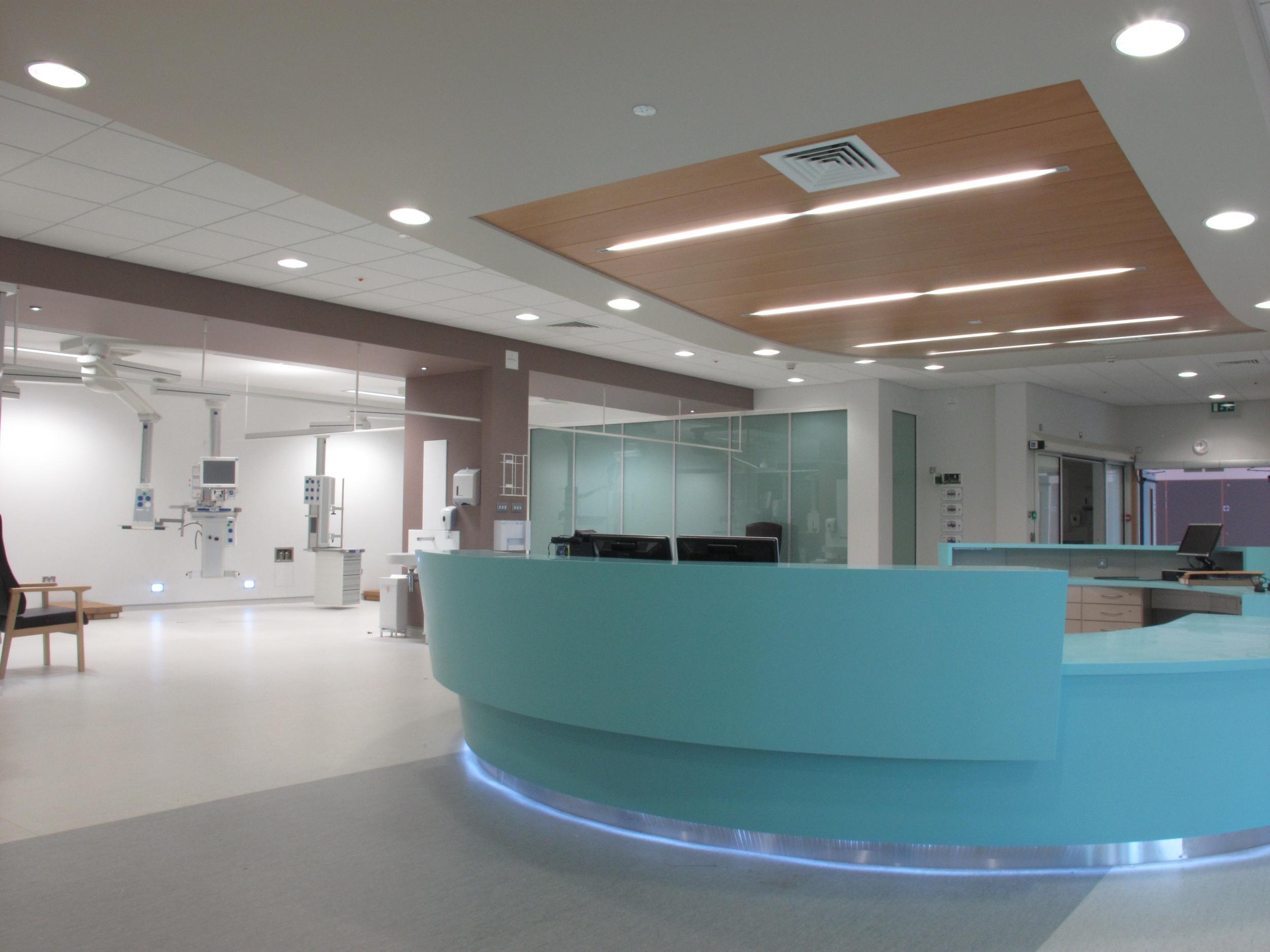 U lster Hospital,New Theatres, nurses station