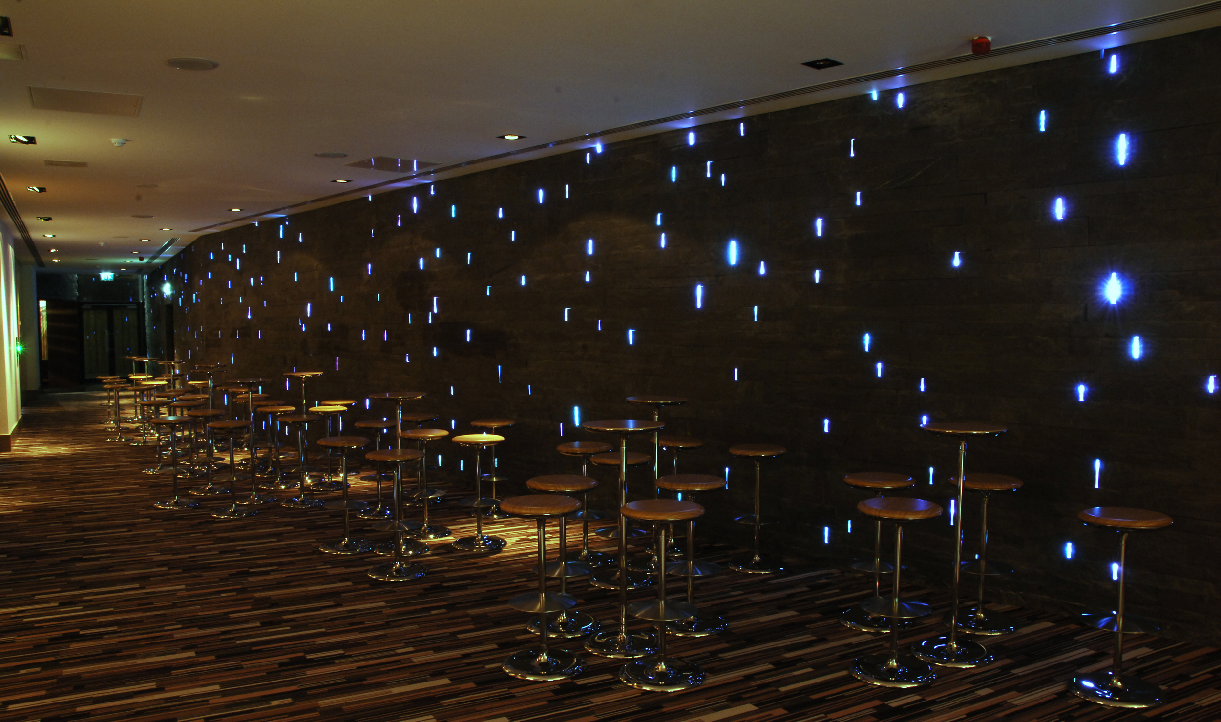 Radisson SAS Hotel Dublin; award winning bespoke fibre optic installation