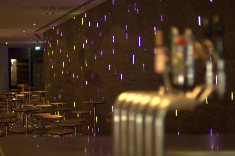 Radisson SAS Hotel Dublin; award winning bespoke fibre optic installation