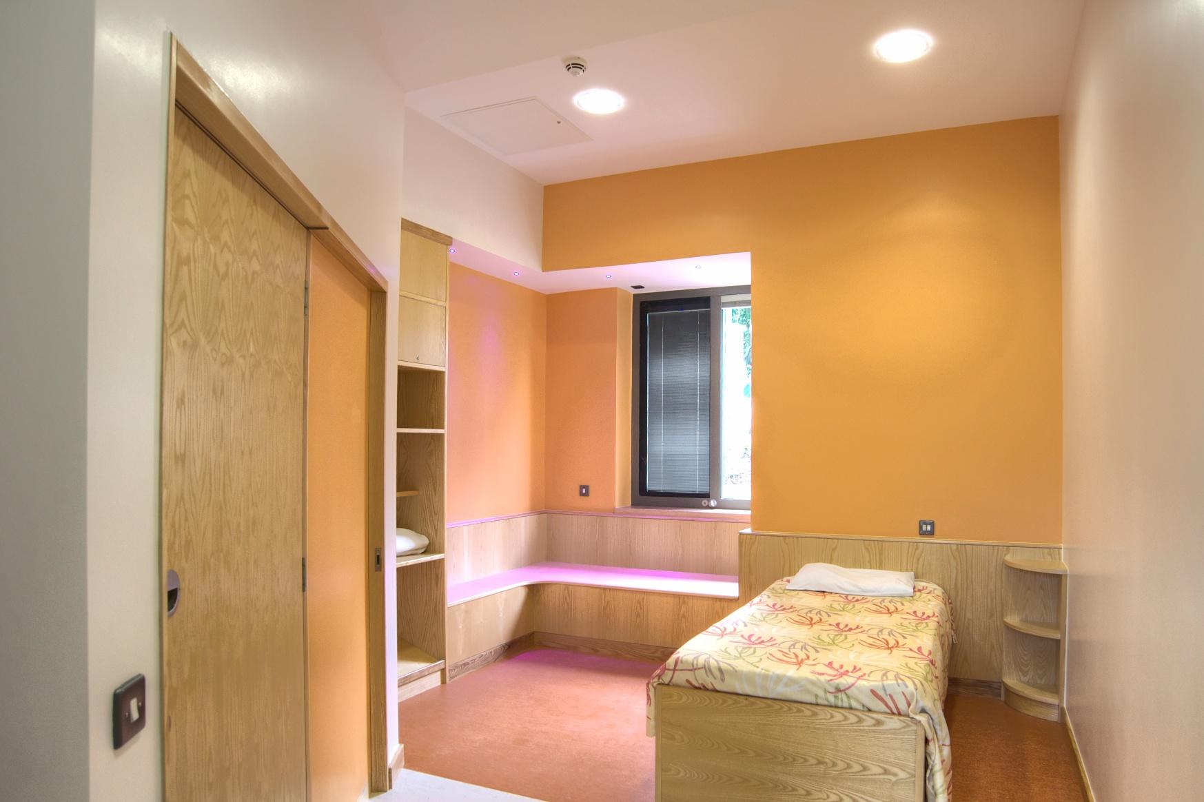 Bluestone: secure bedroom