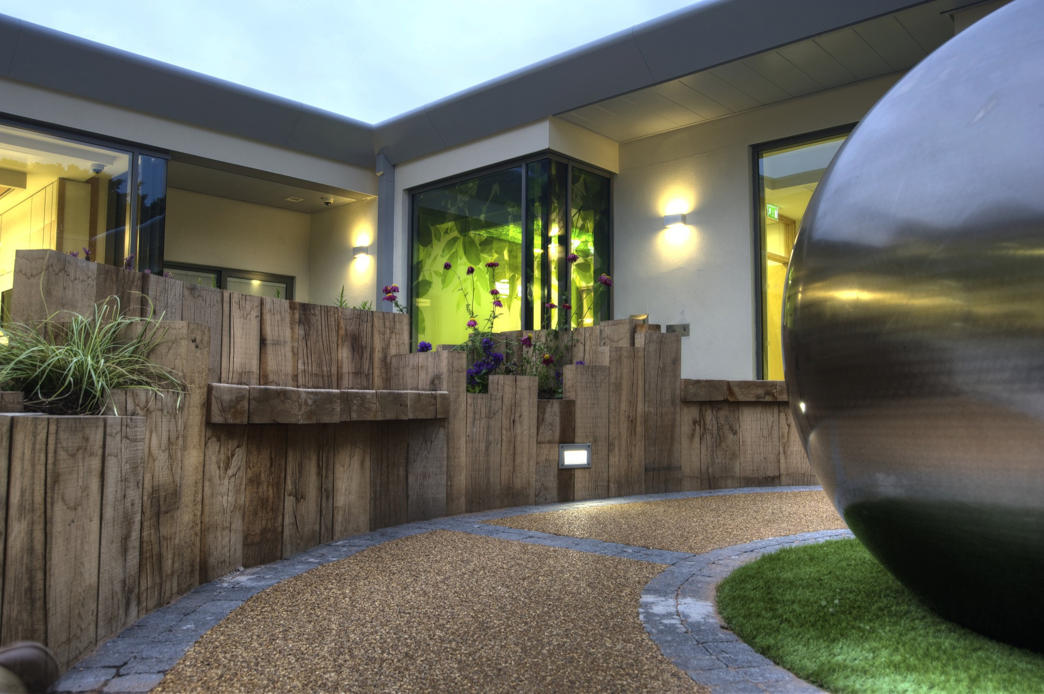 Bluestone Courtyard