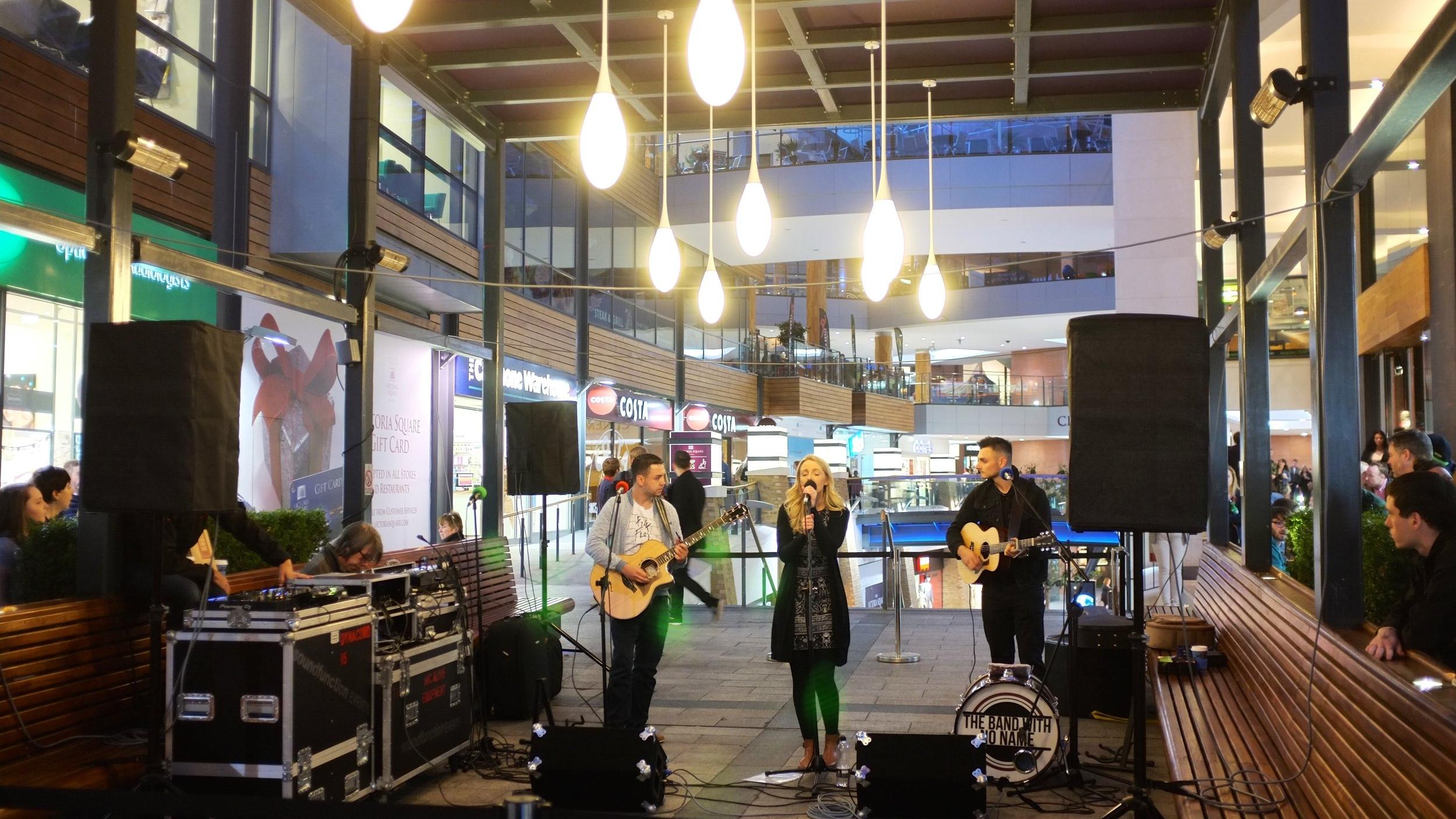 Belfast Culture Night- Victoria Square Pergola