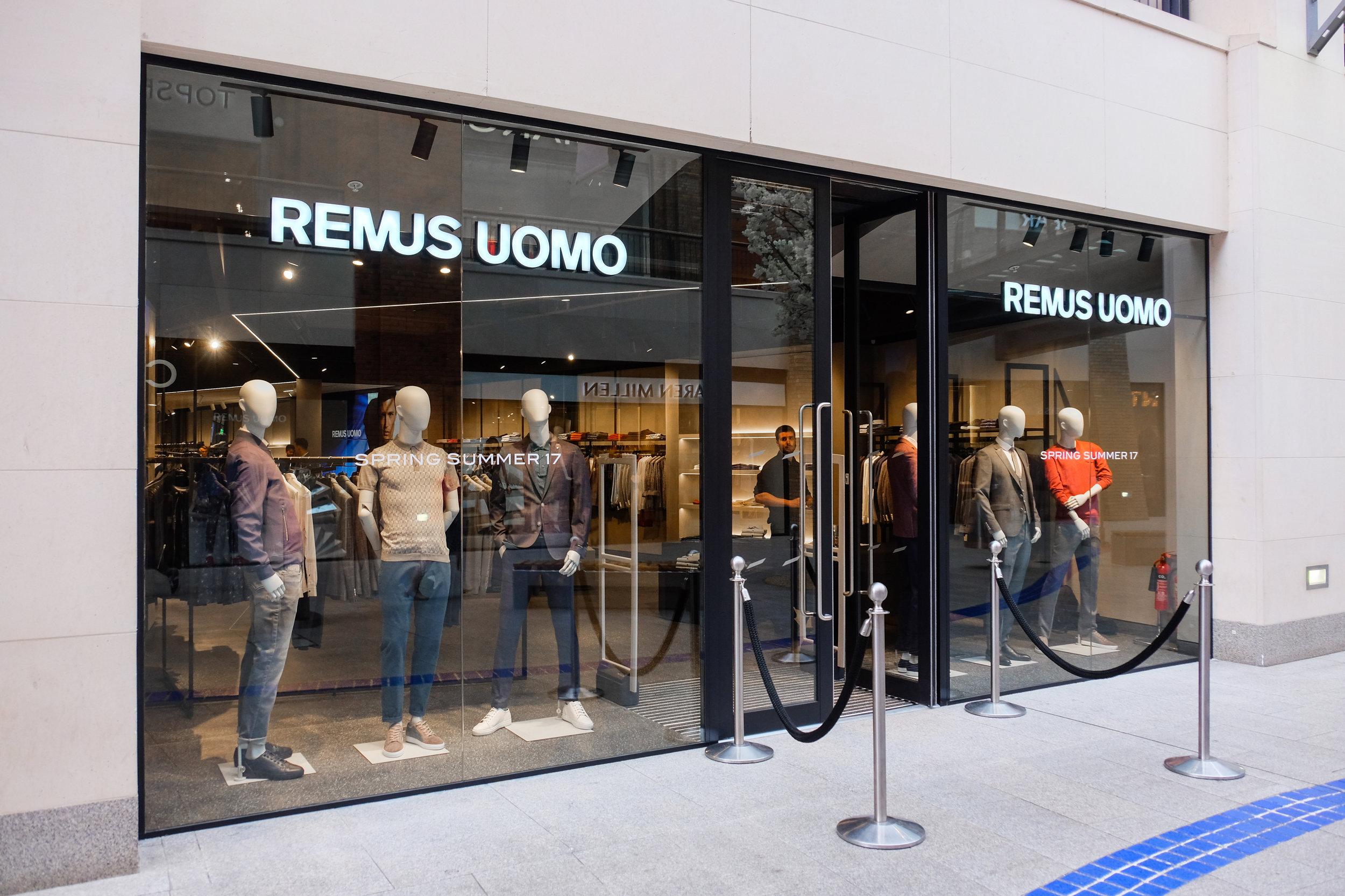 Remus Uomo Flagship Store Belfast
