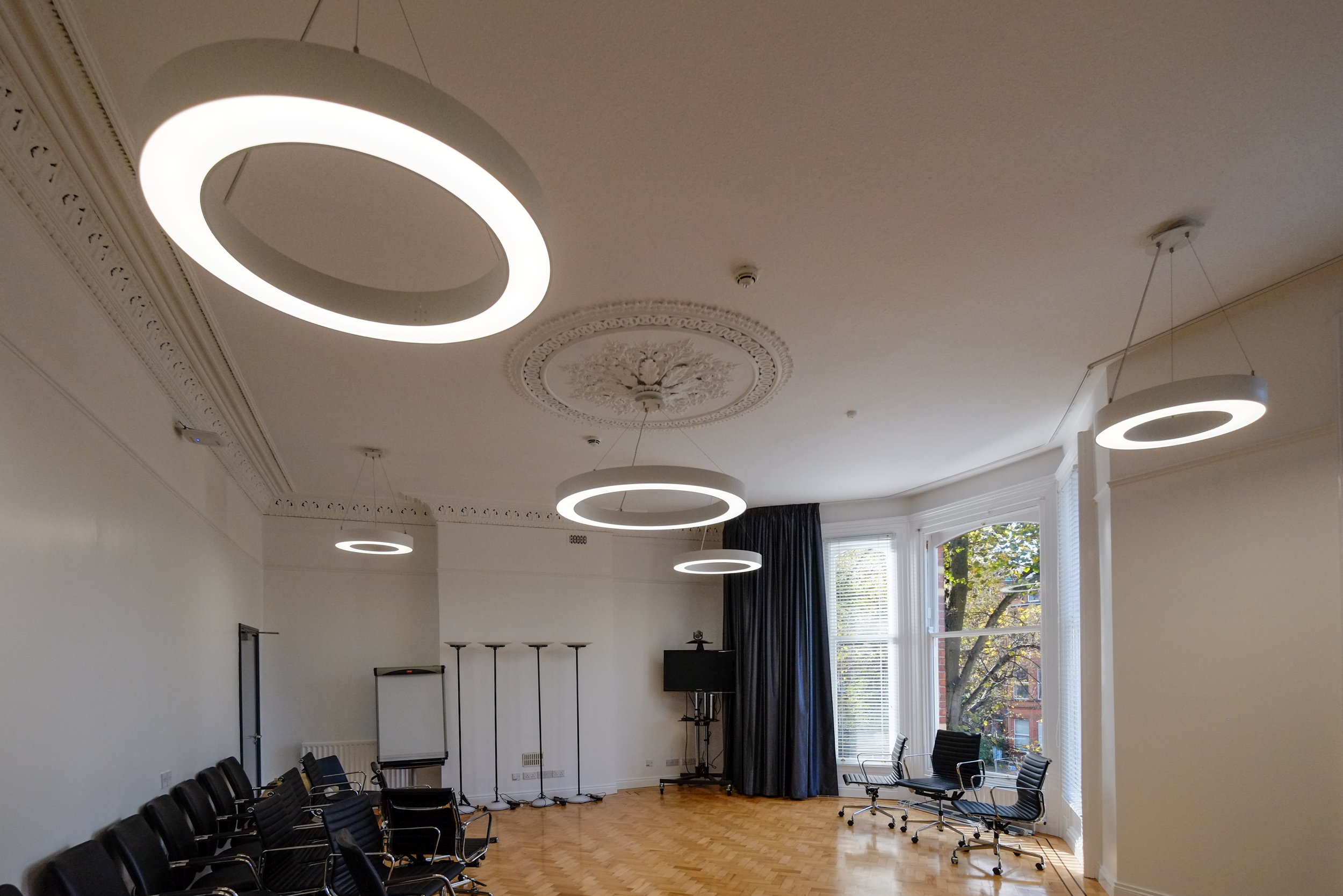 Bernard Crossland Building:  Meeting rooms