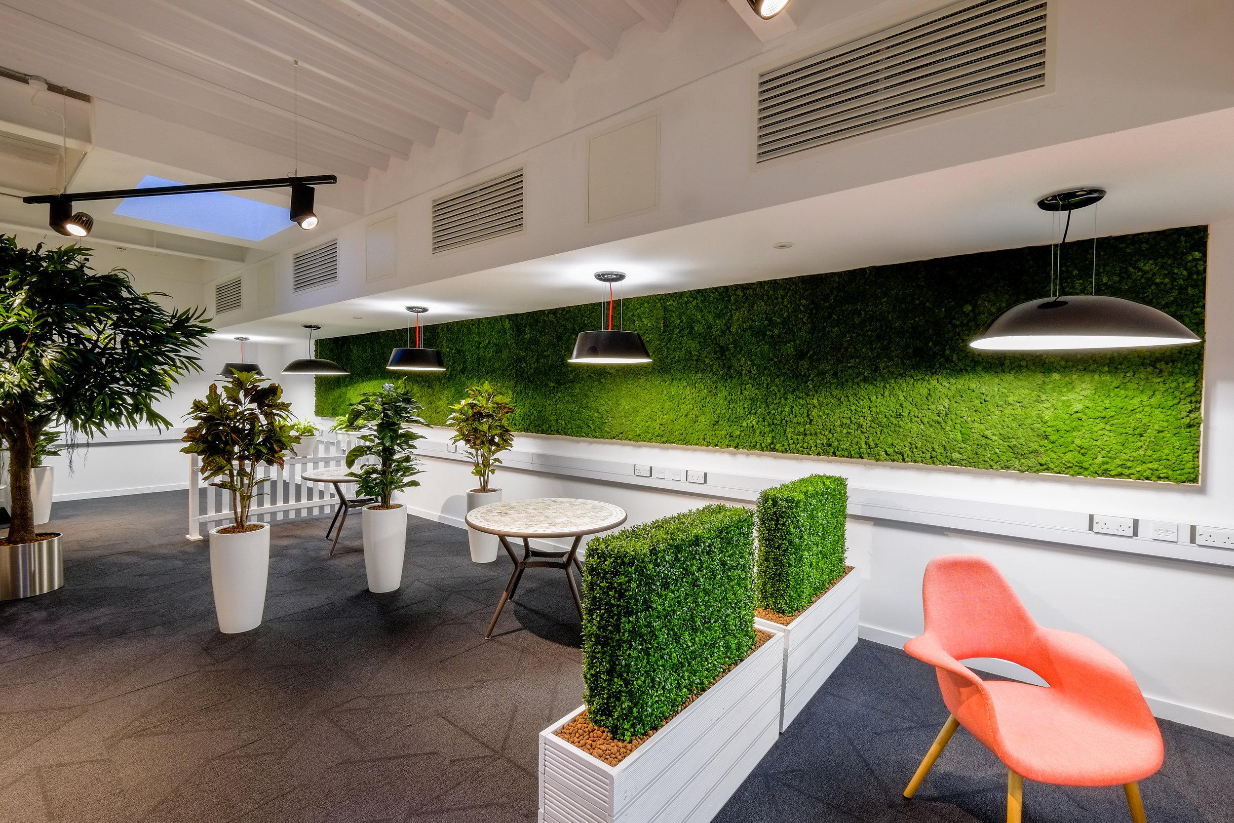 Bernard Crossland Building:  Garden room