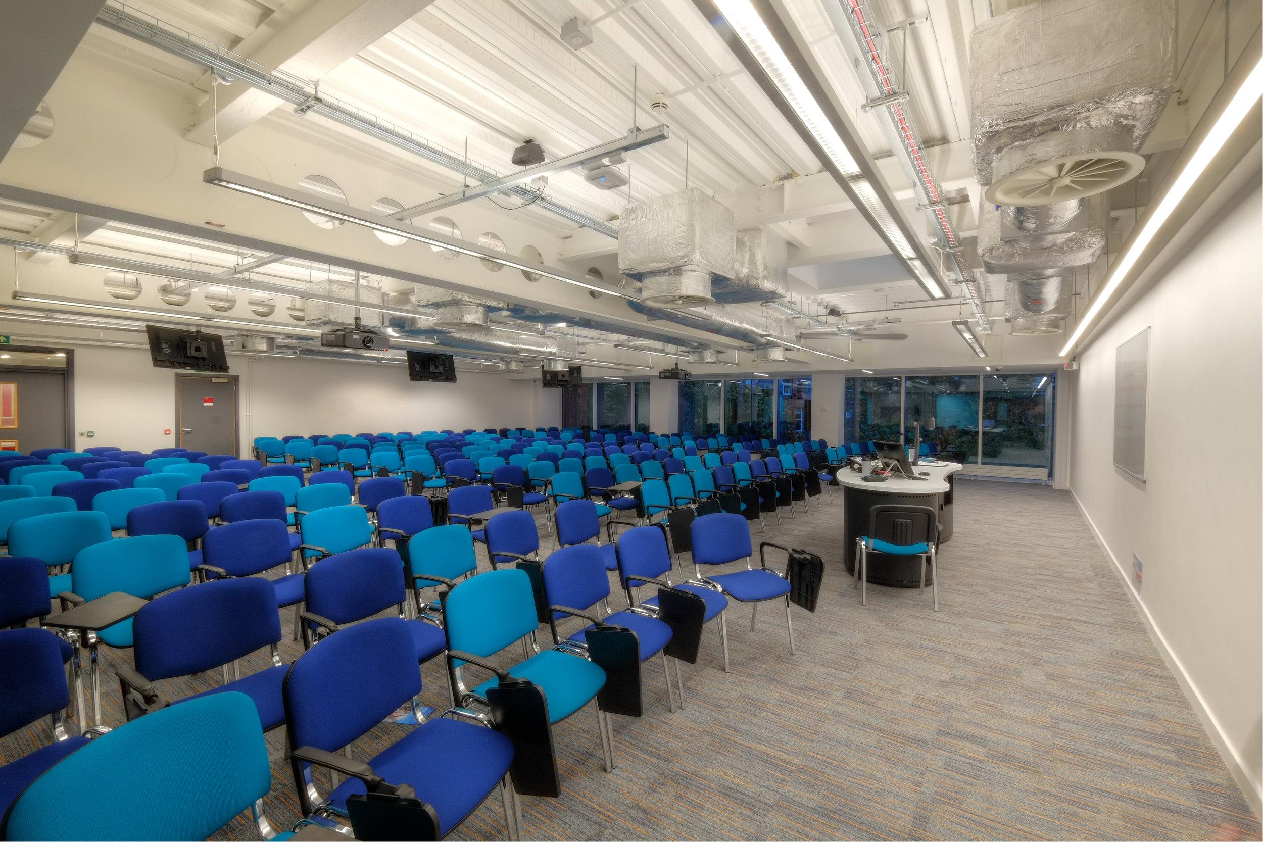 Bernard Crossland Building:  Lecture rooms