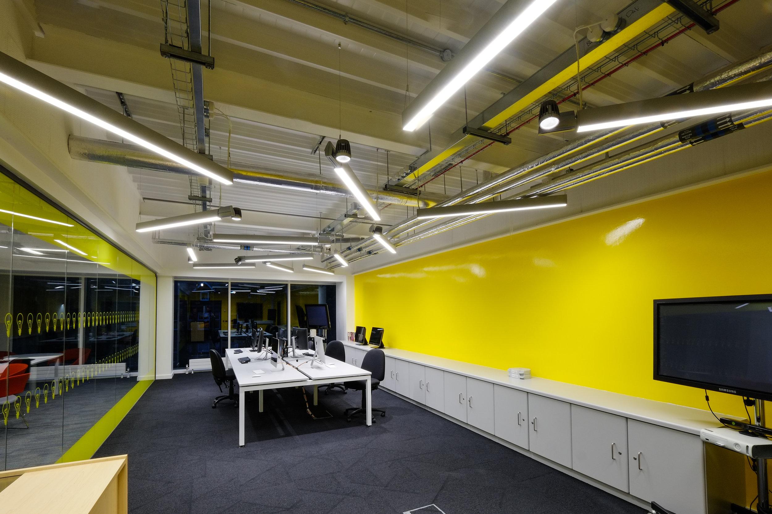 Bernard Crossland Building:  Practical spaces