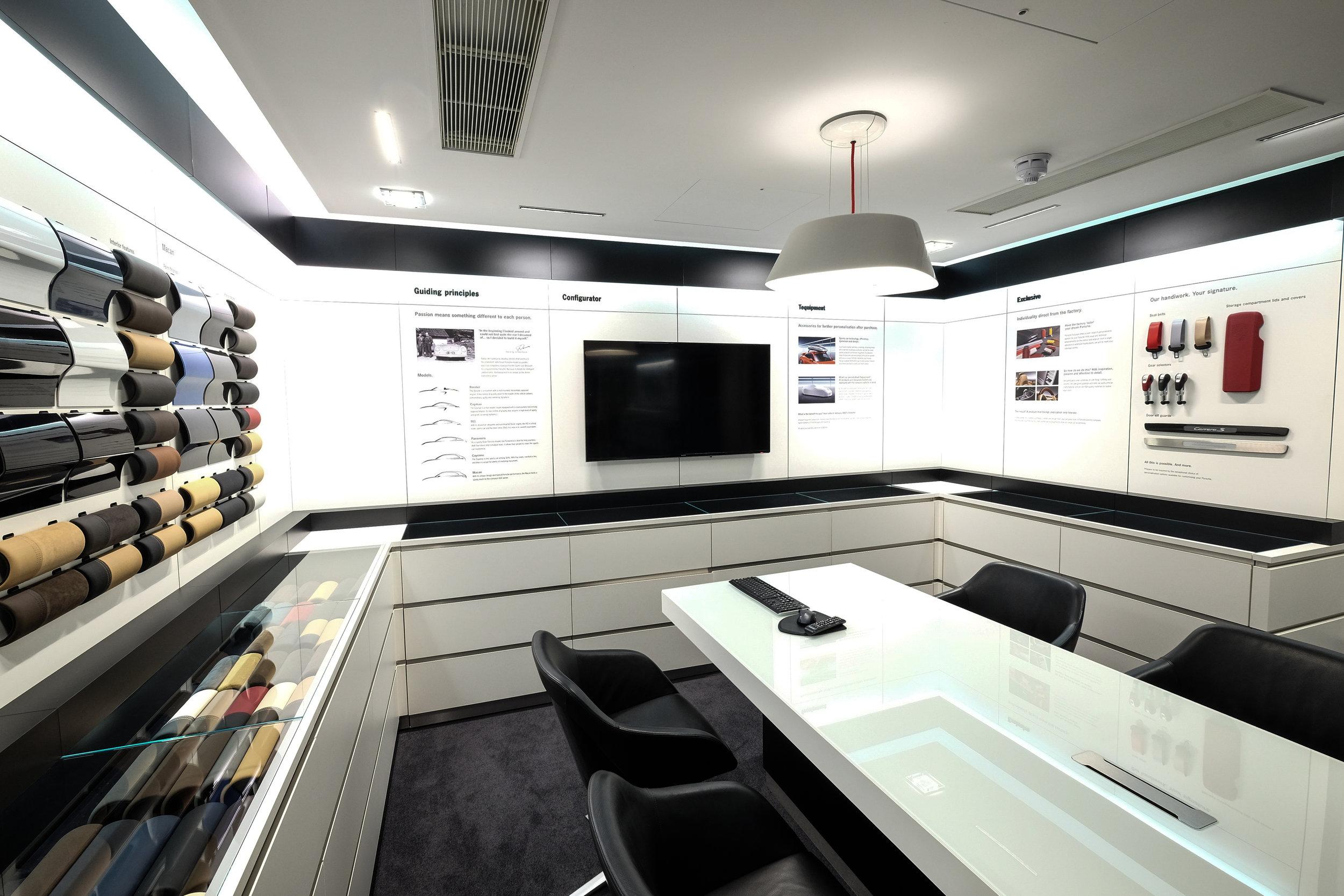 Porsche Showroom Belfast