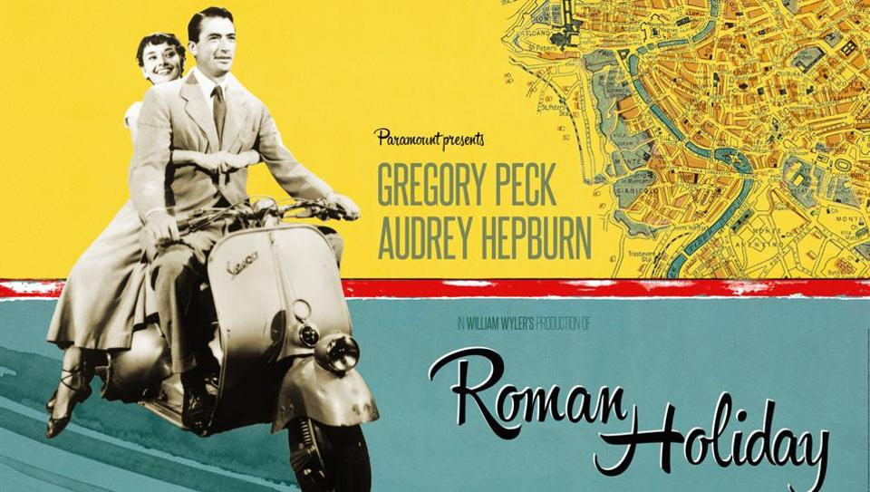 Gregory Peck, Audry Hepburn, sure, sure you are....