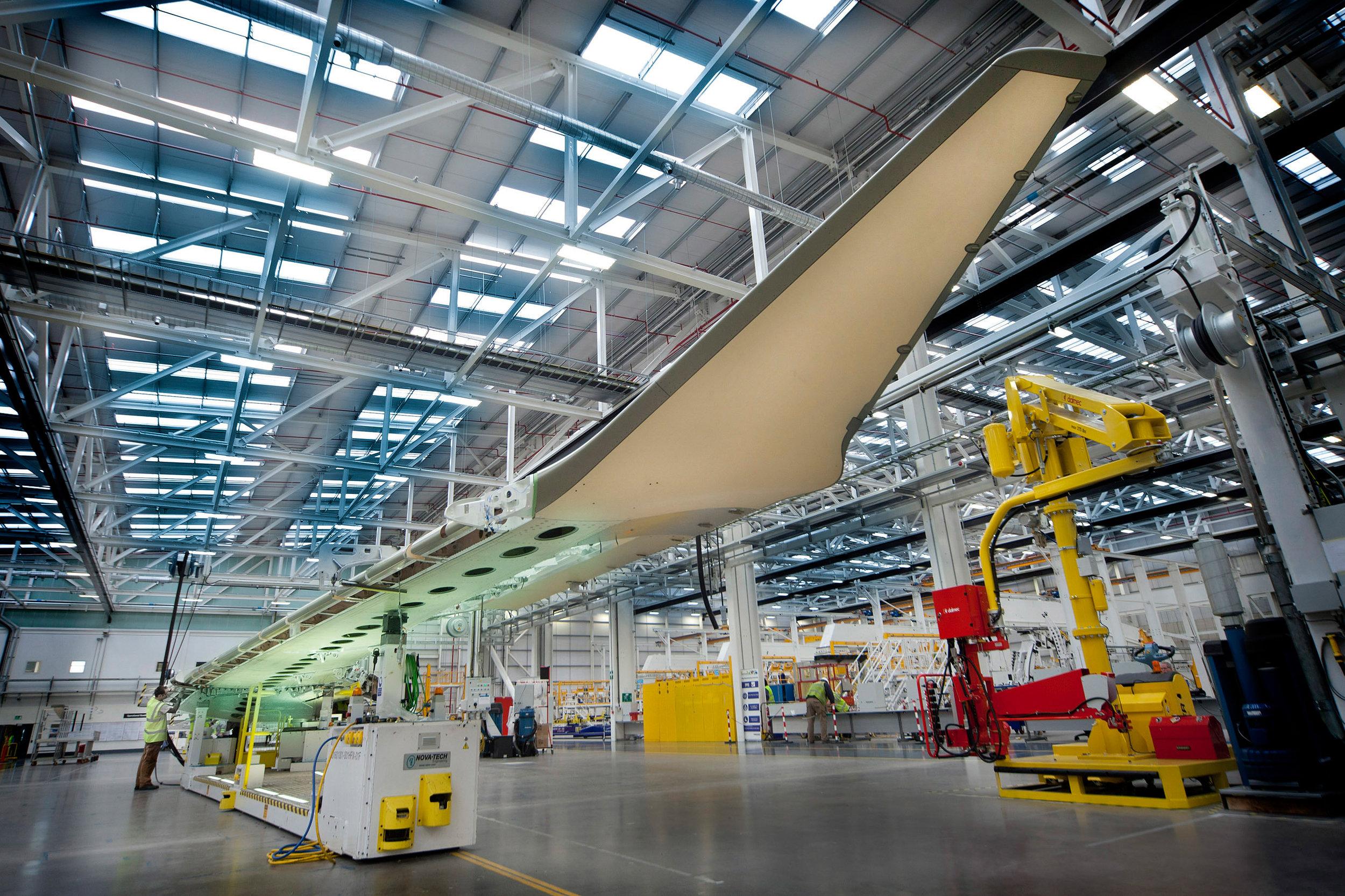 Bombardier C Series plant