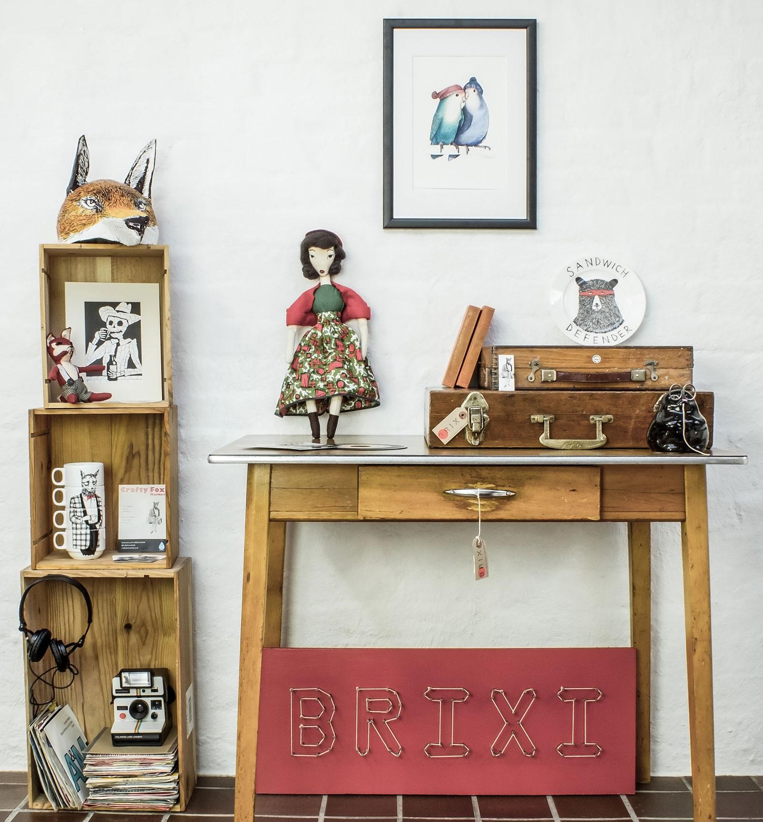 Crafty Fox Pop Up Shop.