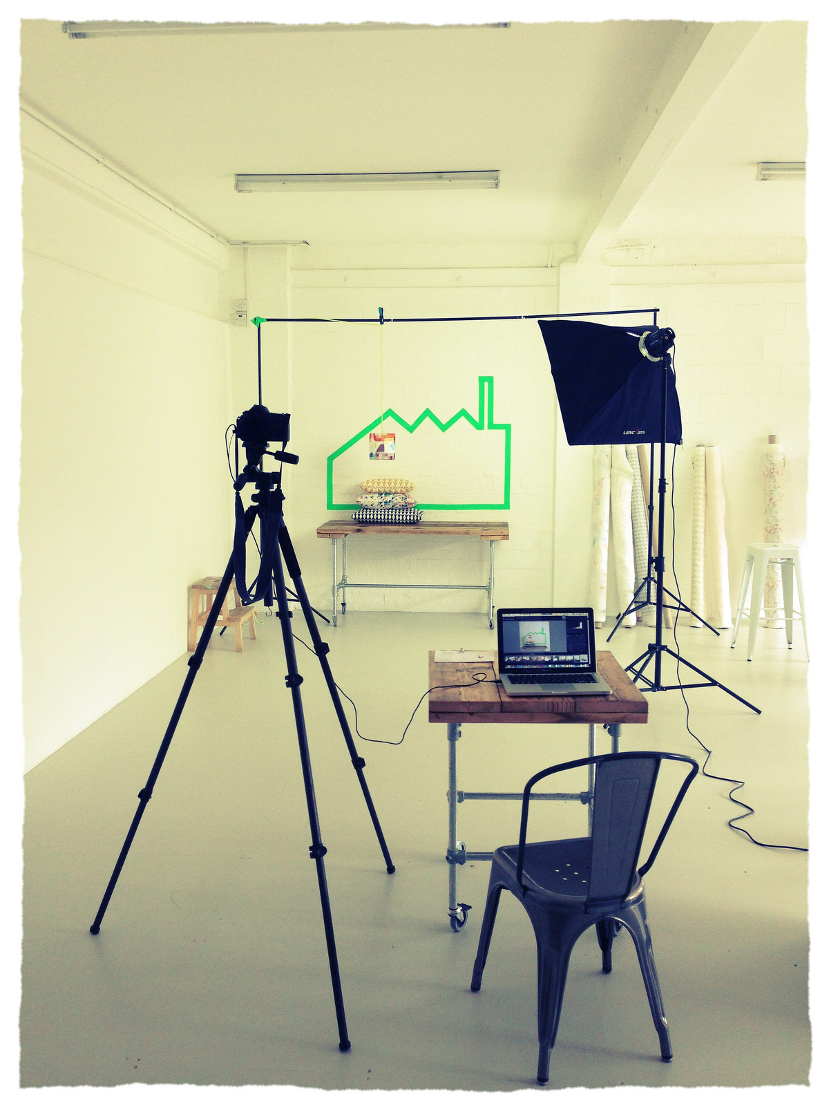 Studio Flock setup in Studio Four. This space is wonderful, every shoot I've done here has been great.